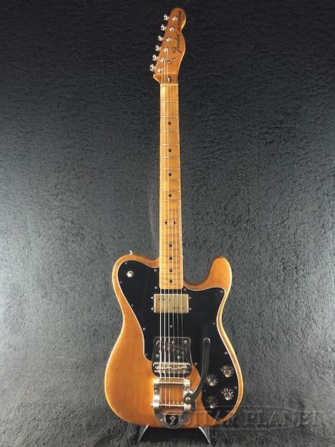 【中古】Fender USA 1974 Telecaster Custom ''Bigsby Mod.'' -Natural / Maple- 1974年製[フェンダー][ナチュラル][ビグスビー][TL,テレキャスターカスタム][Electric Guitar]【used_エレキギター】