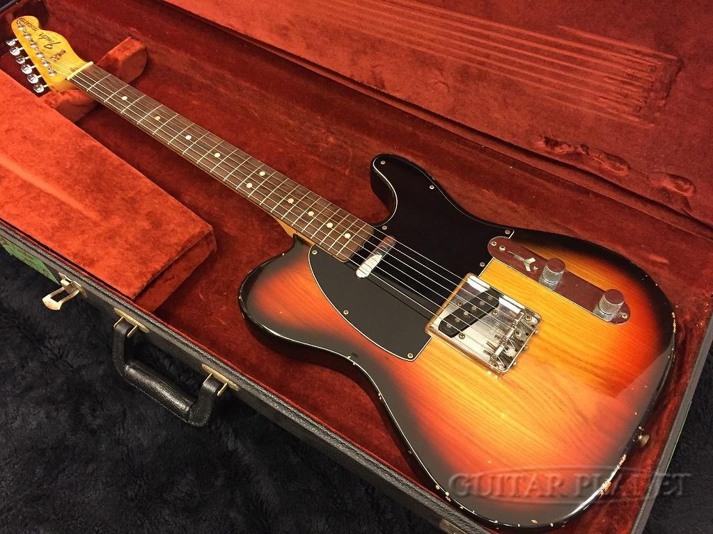 【中古】Fender USA Telecaster -Sunburst / Rosewood- 1979年製[フェンダー][サンバースト][TL,テレキャスター][Electric Guitar,エレキギター]【used_エレキギター】