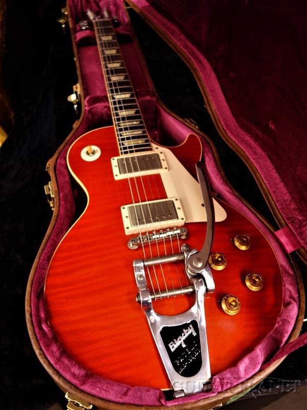 【中古】Gibson Custom Shop ~Historic Collection~ 1957 Les Paul Standard Reissue w/Bigsby VOS -BOTB PG158- 2013年製[ギブソン][カスタムショップ][ヒストリックコレクション][スタンダード][ビグスビー][レスポール][Electric Guitar]【used_エレキギター】