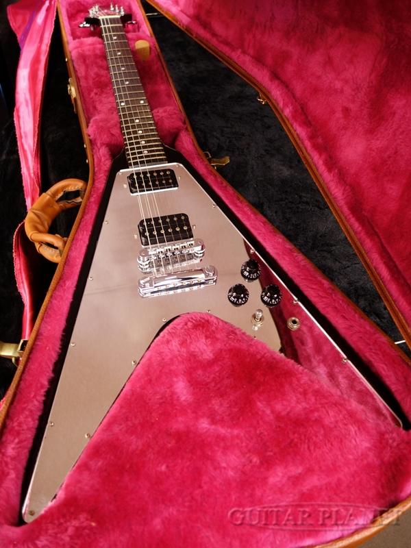 【中古】Gibson Flying V New Century -Ebony- 2006年製[ギブソン][フライングV][ニューセンチュリー][エボニー,Black,ブラック,黒][Electric Guitar,エレキギター]【used_エレキギター】