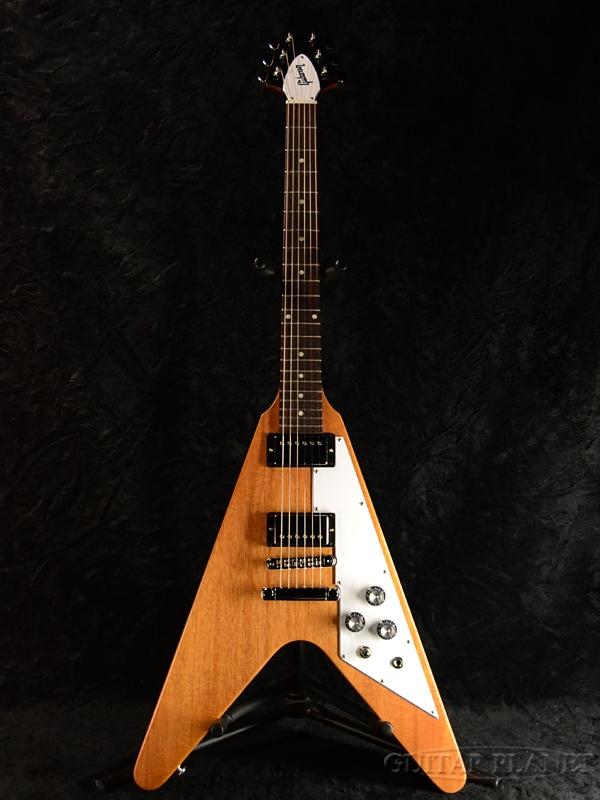 【2019Model】Gibson Flying V 2019 -Antique Natural- 新品[ギブソン][フライングV][アンティークナチュラル][Electric Guitar,エレキギター]