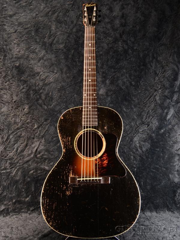 【中古】Gibson L-00 1930年代製[ギブソン][Acoustic Guitar,エレアコ,アコギ,アコースティックギター,Folk Guitar,フォークギター]【used_アコースティックギター】