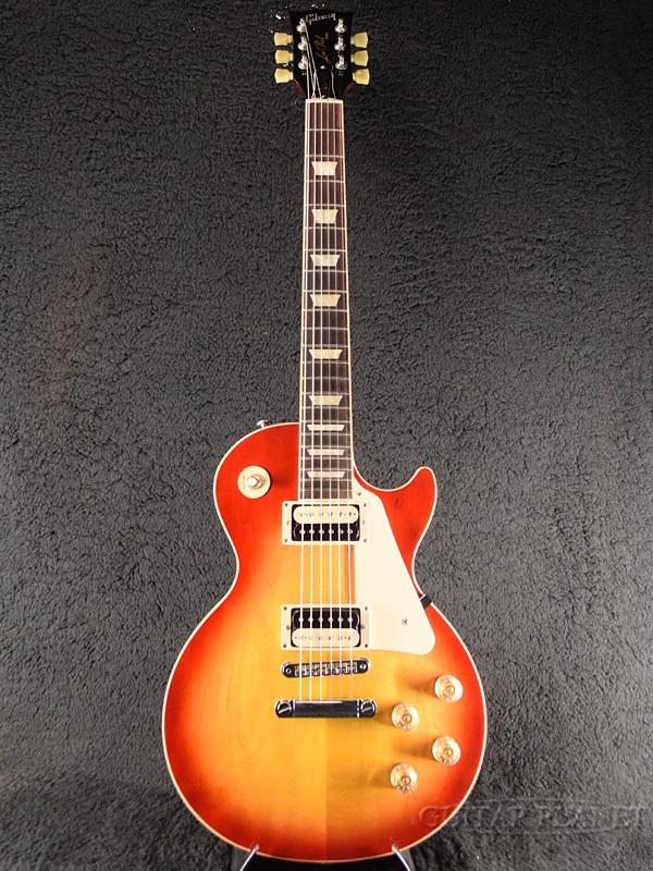 【中古】Gibson Les Paul Classic Plain Top 2016 Limited Proprietary -Heritage Cherry Sunburst- 2016年製[ギブソン][クラシック][ヘリテージチェリーサンバースト][LP,レスポール][Electric Guitar,エレキギター]【used_エレキギター】