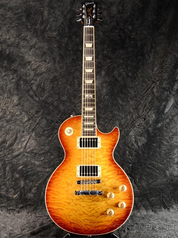 Gibson Les Paul Standard Premium Quilt 2014 -Honey Burst Perimeter- 新品[ギブソン][スタンダード][キルトメイプル][ハニーバースト,木目][LP,レスポール][Electric Guitar,エレキギター]