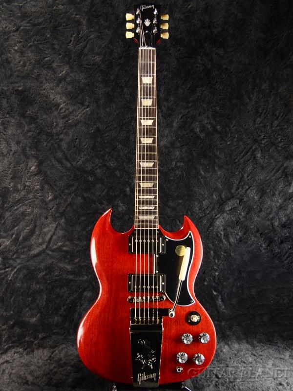 Gibson SG Standard '61 Maestro Vibrola -Vintage 人気ブランド多数対象 Cherry- 新品 チェリー エレキギター Red スタンダード ◆在庫限り◆ Guitar Electric レッド ギブソン 赤