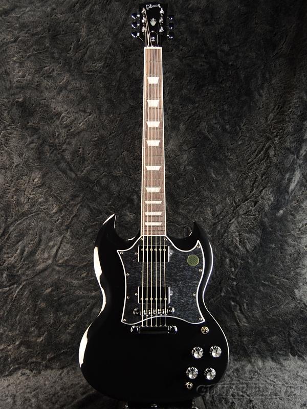 【2019 MODEL】Gibson SG Standard 2019 -Ebony- 新品[ギブソン][SG][スタンダード][エボニー,Black,ブラック,黒][Electric Guitar,エレキギター]