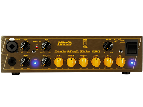 Markbass Little Mark Tube 800 新品 ヘッドアンプ [マークベース][Bass Amplifier Head,ベースアンプヘッド]