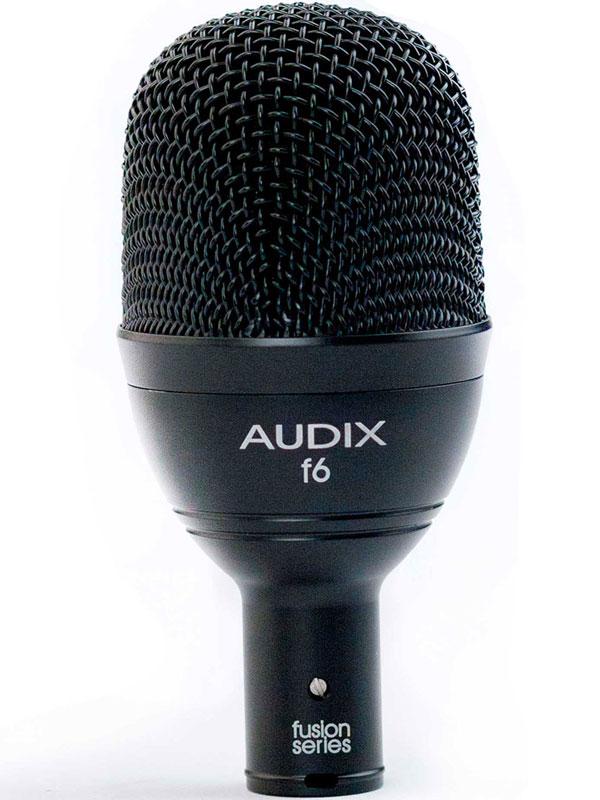 AUDIX f6 新品 バスドラム、低音楽器向け ダイナミックマイク [Drums,Percussion,打楽器][Microphone]