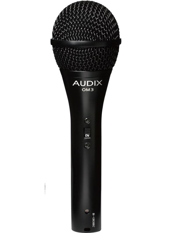 AUDIX OM3S(On/Offスイッチ搭載版) 新品 ダイナミックマイク[Vocal,ボーカル][Dynamic Microphone]