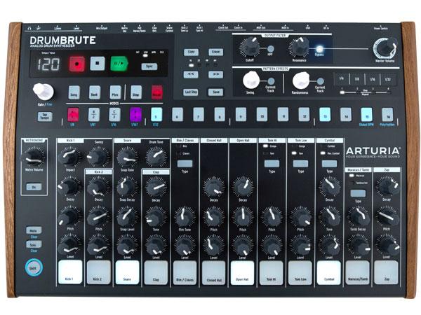 ARTURIA Drum Brute 新品[アートリア][アナログドラムマシン,Analog Drum Maschine]