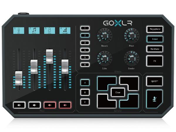 TC Helicon GO XLR 新品 ボーカル用エフェクター[tcヘリコン][Vocal Multi Effector]