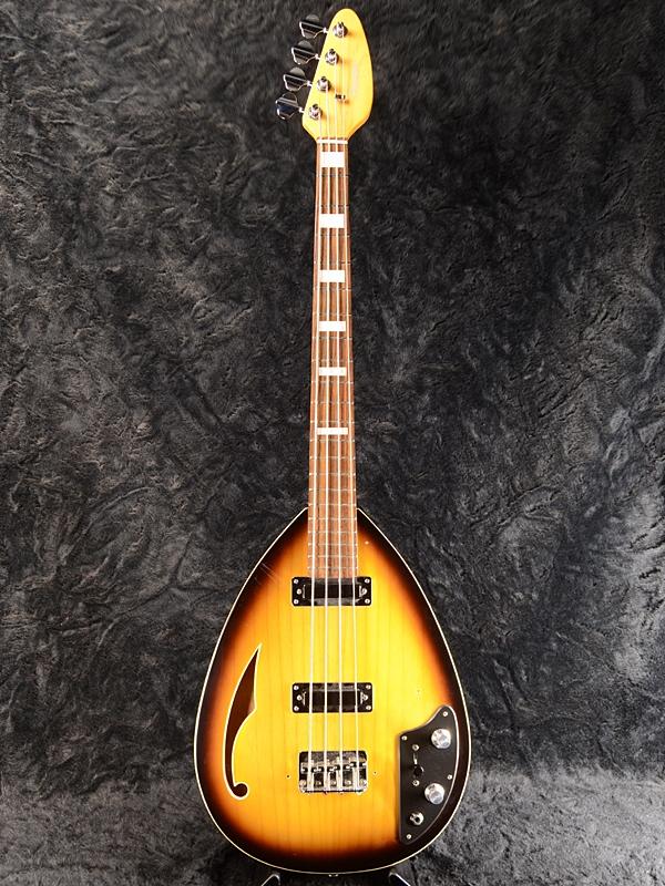 高級素材使用ブランド 【中古】Phantom Guitar Bass Works Teardrop Hollowbody Guitar Bass -Sunburst-[ファントムギターワークス][ティアドロップ][サンバースト][Electric Teardrop Bass,エレキベース][Bizarre,ビザールギター]【used_ベース】, コゴタチョウ:a6e36aca --- moynihancurran.com