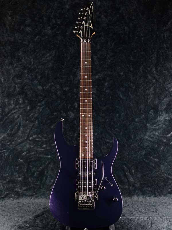 【中古】Ibanez RG470 -Caribbean Blue- 2001年製[アイバニーズ][日本製][カリビアンブルー,青,紫][Stratocaster,ストラトキャスタータイプ][Electric Guitar,エレキギター]【used_エレキギター】
