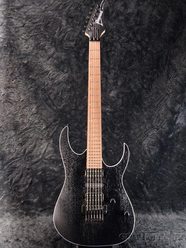 Ibanez RG370ZB-WK Weathered Black 新品[アイバニーズ][ブラック,黒][Stratocaster,ストラトキャスタータイプ][Electric Guitar,エレキギター]