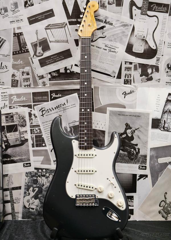 Fender Custom Shop ~2019 Custom Collection~ 1965 Stratocaster Journeyman Relic -Aged Charcoal Frost Metallic- 新品[フェンダーカスタムショップ][ストラトキャスター][チャコールフロストメタリック][Electric Guitar,エレキギター]