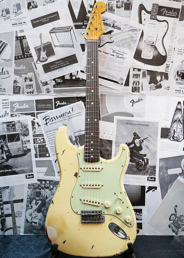納得できる割引 【中古 1960s】Fender Relic Custom Shop Relic 1960s Cunetto Stratocaster Cunetto Era -Olympic White- 1996年製[フェンダーカスタムショップ][ストラトキャスター][カネットエラ][ホワイト、白][Electric Guitar,エレキギター]【used_エレキギター】, 色丹郡:ef89bb7c --- clifden10k.com