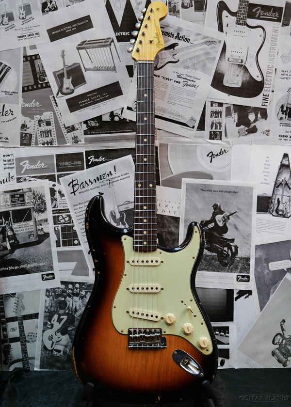 【中古】Fender Sunburst- Custom Color Shop Custom Build Custom 1961 Stratocaster Relic -Faded 3 Color Sunburst- 2019年製[フェンダーカスタムショップ][サンバースト][ST,ストラトキャスター][Electric Guitar]【used_エレキギター】, 御所浦町:be32798b --- sophetnico.fr