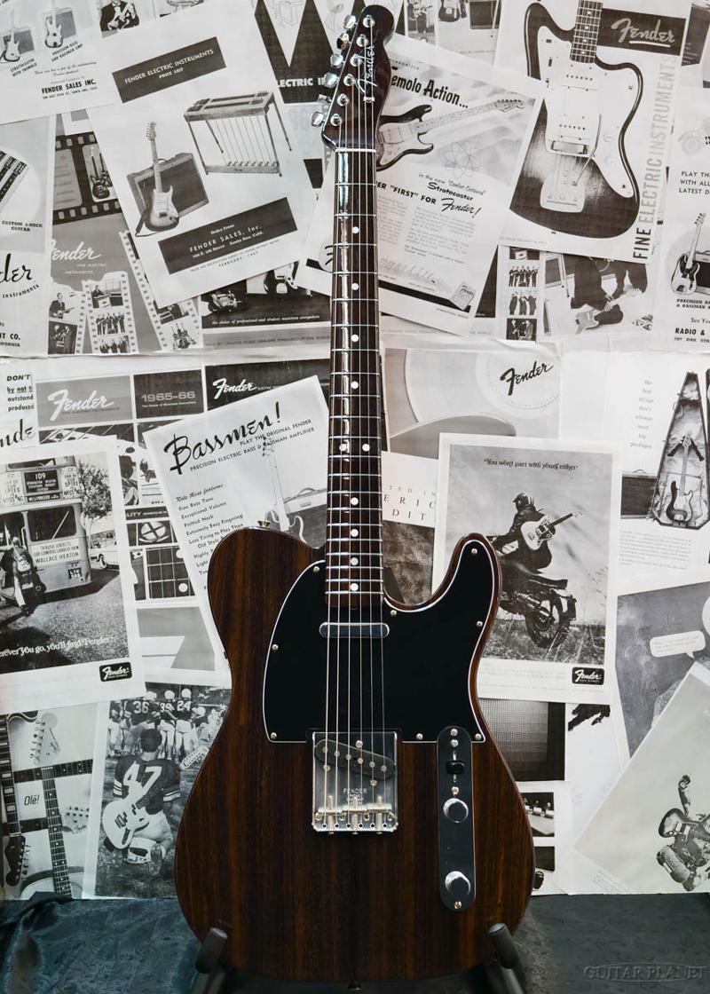 【中古】Fender Custom Shop MBS 1968 Rosewood Telecaster N.O.S. -ALL ROSE- by Dale Wilson 2019年製[フェンダーカスタムショップ][オールローズ][デイルウィルソン][TL,テレキャスター][Electric Guitar]【used_エレキギター】
