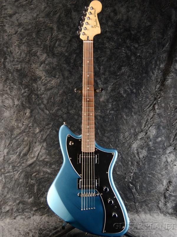 トミカチョウ Fender Mexico Alternate Reality The Meteora HH -Lake Placid Blue- 新品[フェンダーメキシコ][メテオラ][レイクプラシッドブルー,青][Electric Guitar,エレキギター], ハイヒール専門店 BEMILANO ea03ae02