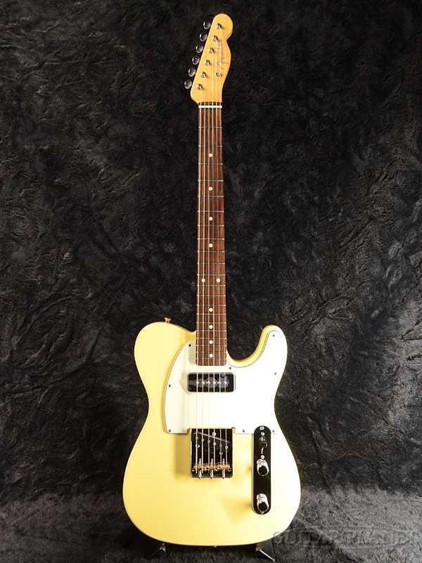 格安 Fender FSR Made in Japan Hybrid 60s Telecaster P-90 -Vintage White- 新品 《レビューを書いて特典プレゼント!!》[フェンダージャパン][ハイブリッド][ホワイト,白][テレキャスター][Electric Guitar,エレキギター], ワコウシ 40139cd4