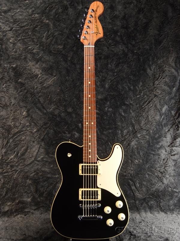 【ふるさと割】 Fender Made in Japan Troublemaker Telecaster -Black- 新品 [フェンダージャパン][トラブルメーカー][ブラック,黒][テレキャスター][Electric Guitar,エレキギター], 鹿瀬町 a29964b2