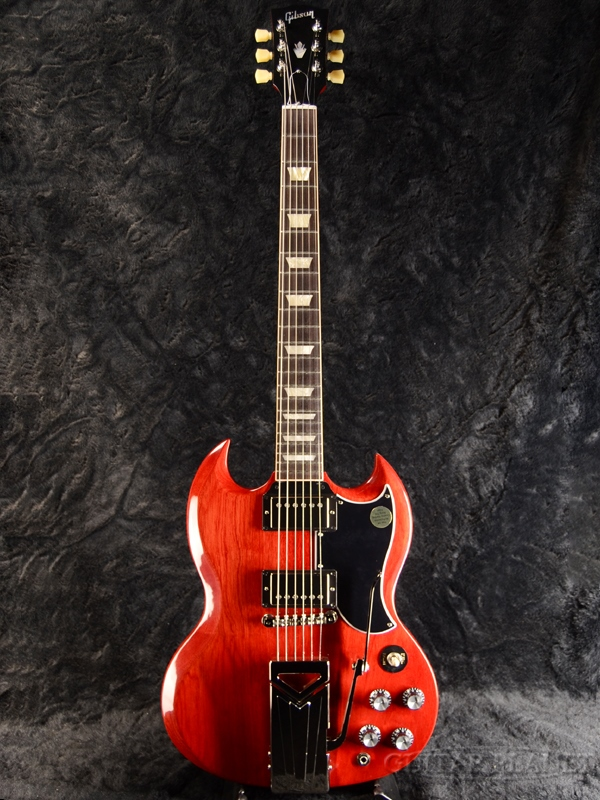 【2019 MODEL】Gibson SG Standard '61 Sideways Vibrola -Vintage Cherry- 新品[ギブソン][スタンダード][ヴィンテージチェリー,Red,レッド,チェリー,赤][Electric Guitar,エレキギター]