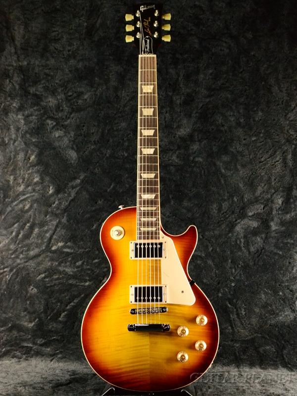 【中古】Gibson Les Paul Traditional Plus 2016 -Iced Tea- 2016年製[ギブソン][トラディショナル][プラス][アイスドティー,Sunburst,サンバースト][LP,レスポール][Electric Guitar,エレキギター]【used_エレキギター】
