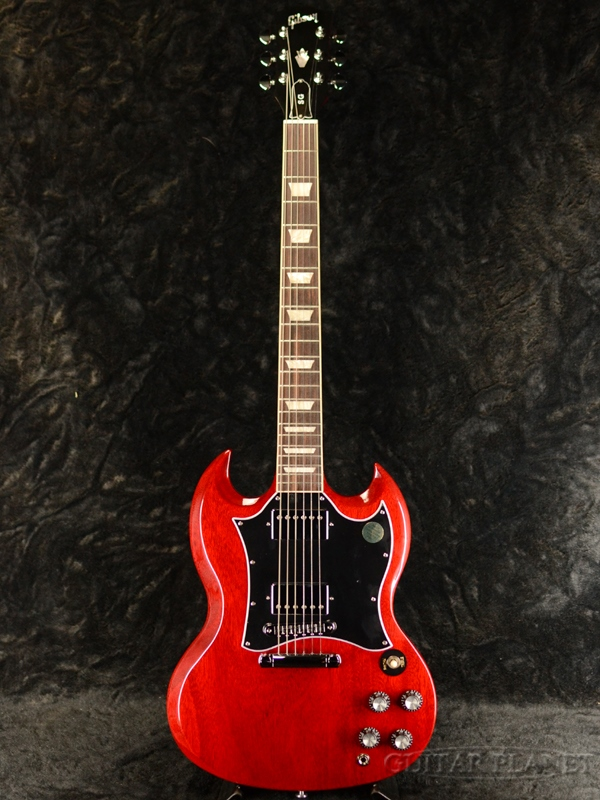 Gibson SG Standard -Heritage Cherry- 新品[ギブソン][スタンダード][Red,レッド,チェリー,赤][Electric Guitar,エレキギター]