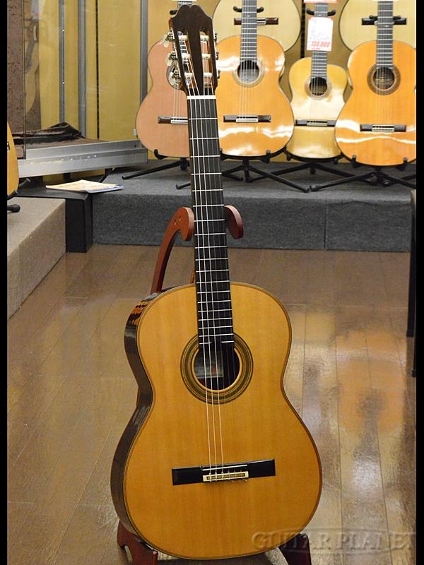 【中古】一柳一雄 No.30S 松/ハカランダ 1980年製[Ichiyanagi Kazuo][Natural,ナチュラル][Classical Guitar,クラシックギター]【used_アコースティックギター】