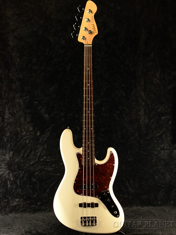 Tokai AJB-58 VWH ホワイト 新品[トーカイ][ジャズベースタイプ,Jazz Bass][白][エレキベース,Electric Bass][AJB-58]