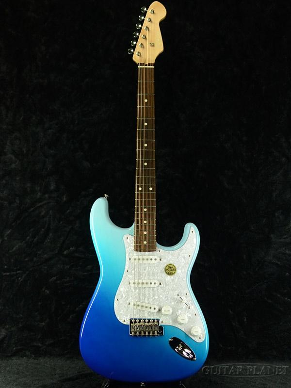 【当店オーダーモデル】AST-GP ASH Blue edition C/BBS-FADE #190546 新品[トーカイ,東海][国産][ブルーフェイド,ホワイト,青,白][Stratocaster,ストラトキャスター][エレキギター,Electric Guitar]