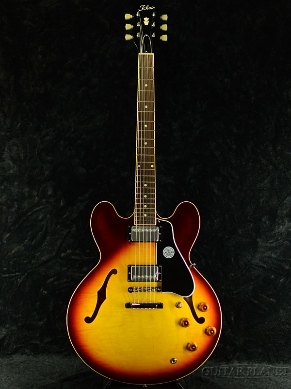 Tokai ES224 TB 新品 ティーバースト[トーカイ,東海][国産][サンバースト][ES-224][セミアコ][Electric Guitar,エレキギター][動画]