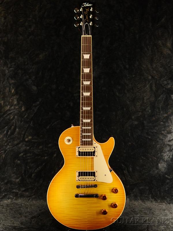 Tokai LS124F HB 新品 ハニーバースト[トーカイ,東海楽器][国産][Yellow,イエロー,黄][Les Paul,レスポールタイプ][Electric Guitar,エレキギター][LS-124F]