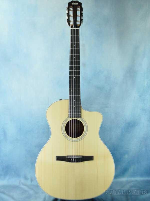 Taylor 214ce-Nylon Rosewood 新品[テイラー][ナチュラル,木目][クラシックギター,クラギ,エレガット,ガットギター,Classic Guitar]