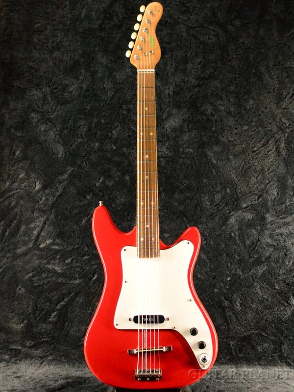 【中古】Vox Stroller -Red- 1965年頃製[ボックス,ヴォックス][レッド,赤][Bizarre,ビザールギター][Electric Guitar]【used_エレキギター】
