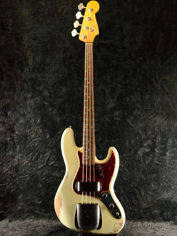 Fender Custom Shop ~Custom Build~1960 Jazz Bass Heavy Relic -Aged Olympic White- 新品 [フェンダーカスタムショップ][オリンピックホワイト,白][ジャズベース][Electric Bass,エレキベース]