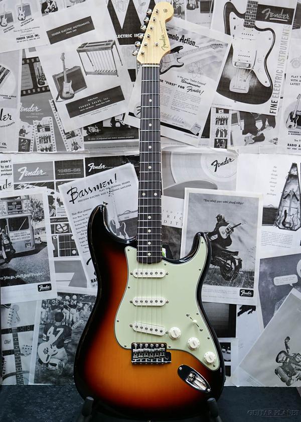 Fender Custom Shop ~Spec.Piece~ Custom Build 1960 Stratocaster N.O.S. -3 Color Sunburst- 新品[フェンダーカスタムショップ,CS][サンバースト][ストラトキャスター][Electric Guitar,エレキギター]