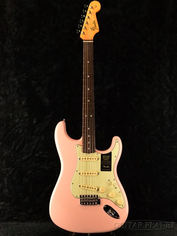 Fender USA American Original 60s Stratocaster - Shell Pink- 新品[フェンダー][アメリカンオリジナル][シェルピンク][ストラトキャスター][Electric Guitar,エレキギター]