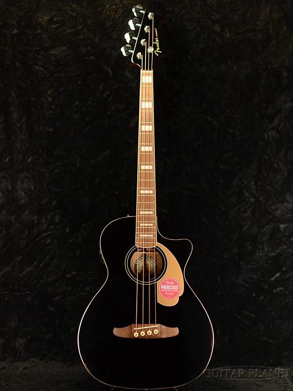 Fender Kingman Bass 新品 ブラック[フェンダー][キングマン][Black][アコースティックベース,アコベ,Acoustic Bass]