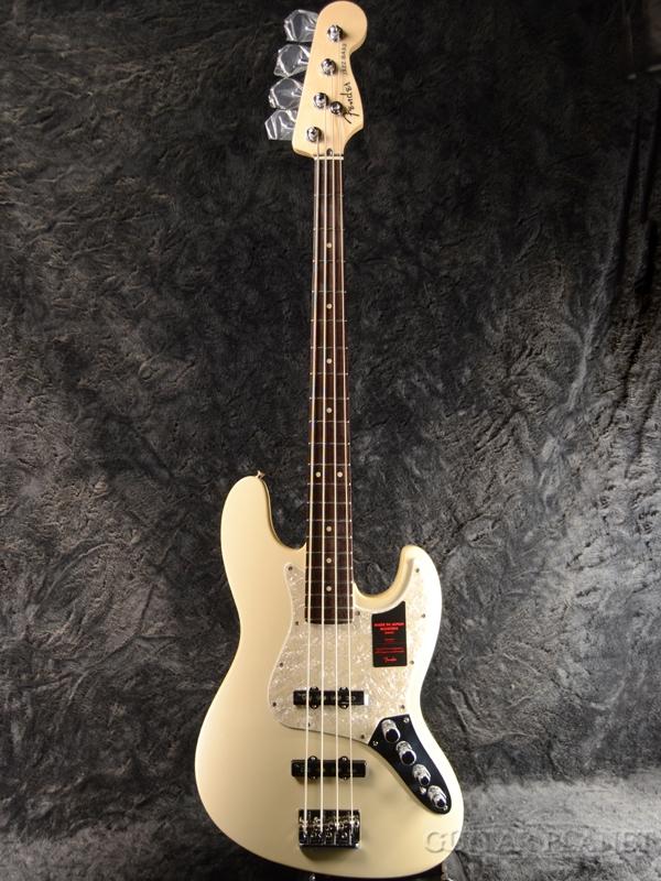 Fender Made in Japan Modern Jazz Bass -Olympic Pearl- 新品 [フェンダージャパン][モダン][オリンピックパール,白][ジャズベース][Electric Bass,エレキベース]