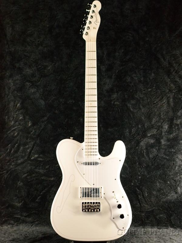 Fender Made In Japan Silent Siren -すぅモデル- Telecaster 新品[フェンダージャパン][吉田菫,サイレントサイレン][White,ホワイト,白][TL,テレキャスター][Electric Guitar,エレキギター]