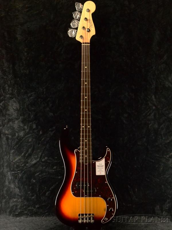 【NEW MODEL】Fender Made In Japan Traditional 60s Precision Bass -3-Color Sunburst- 新品[フェンダージャパン][プレシジョンベース,プレベ][サンバースト][Electric Bass,エレキベース]