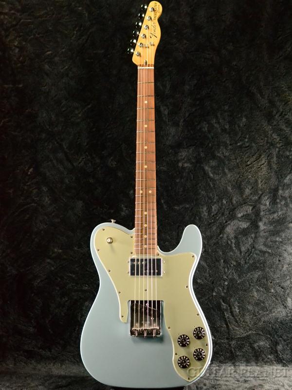 Fender Mexico Vintera 70s Telecaster Custom -Sonic Blue- 新品[フェンダー][メキシコ][ソニックブルー,青][テレキャスターカスタム][Electric Guitar,エレキギター]