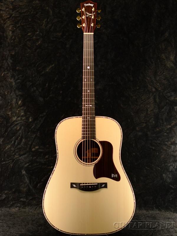 Headway Aska Team Build HD-501 DX/MR A,S/ATB #A02259 【Deviser One Day Guitar Show選定品】【限定6本】【メーカーHP記載個体】 新品[ヘッドウェイ][国産][Natural,ナチュラル][Acoustic Guitar,アコギ,アコースティックギター,Folk Guitar,フォークギター][HD501]