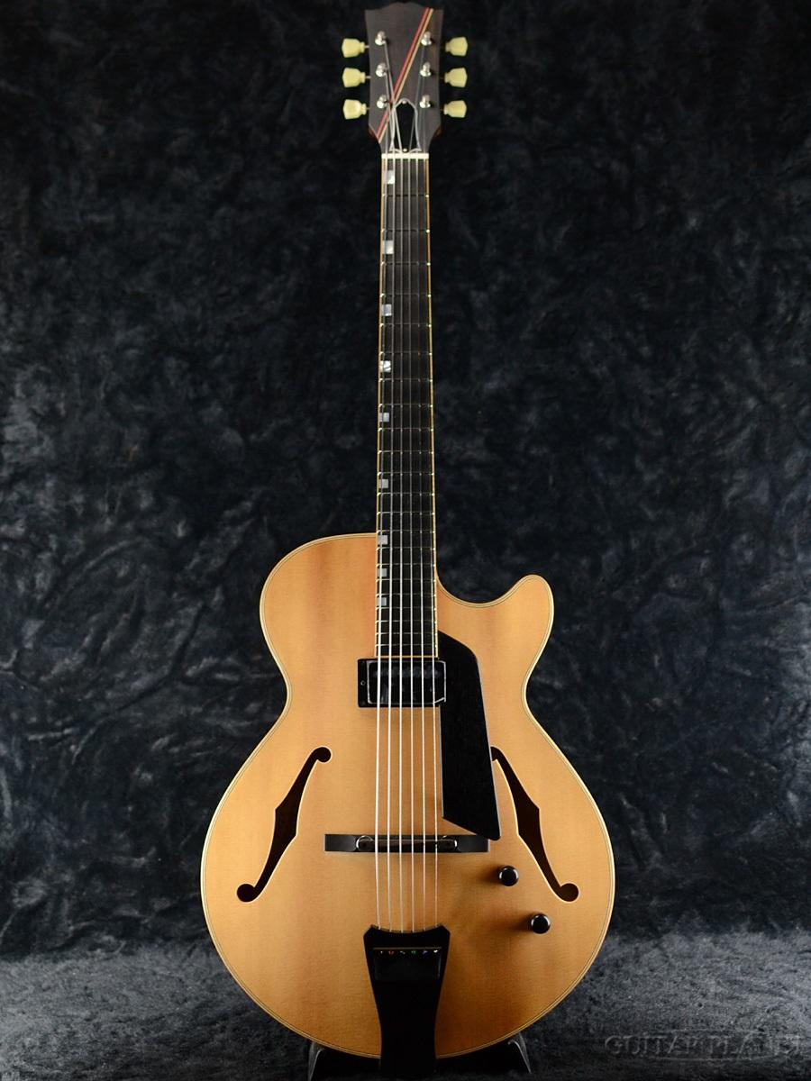 新品[ニュアージュ][Natural,ナチュラル,木目][フルアコ][Electric Natural Guitar,エレキギター] Nuages SC15S/PT