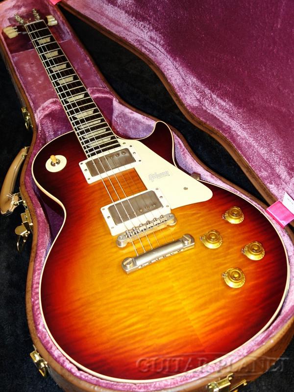 【現地選定材使用!!】Gibson Custom Shop~Historic Collection~ 1960 Les Paul Standard VOS -Factory Burst- #0 9529 新品[ギブソン][ファクトリーバースト][レスポール,LP][Electric Guitar,エレキギター]