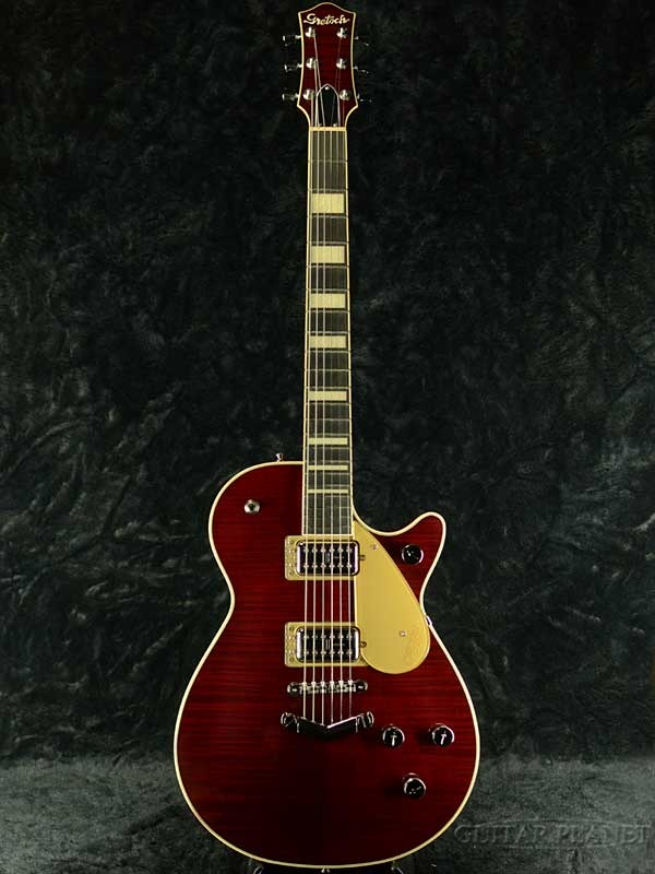 Gretsch G6228FM Players Edition Jet BT with V-Stoptail -Crimson Stain- 新品[グレッチ][プレイヤーズエディション][ジェット][Vストップテイル][クリムゾン,赤][Electric Guitar,エレキギター]