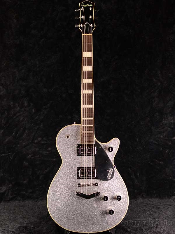 Gretsch G6229 Players Edition Jet BT with V-Stoptail -Silver Sparkle- 新品[グレッチ][シルバー][Guitar,ギター]