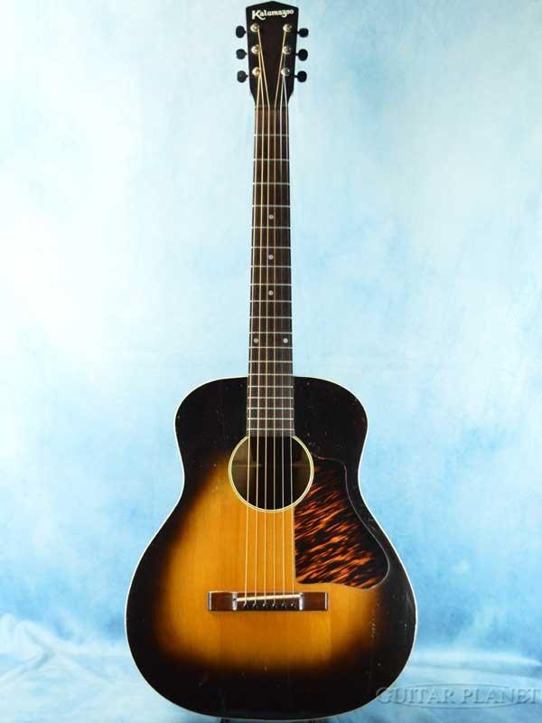 【中古】Kalamazoo KG-11 -Sunburst- 1935年頃製[カラマズー][KG11][サンバースト][Acoustic Guitar,アコースティックギター,アコギ,Folk Guitar,フォークギター]【used_アコースティックギター】
