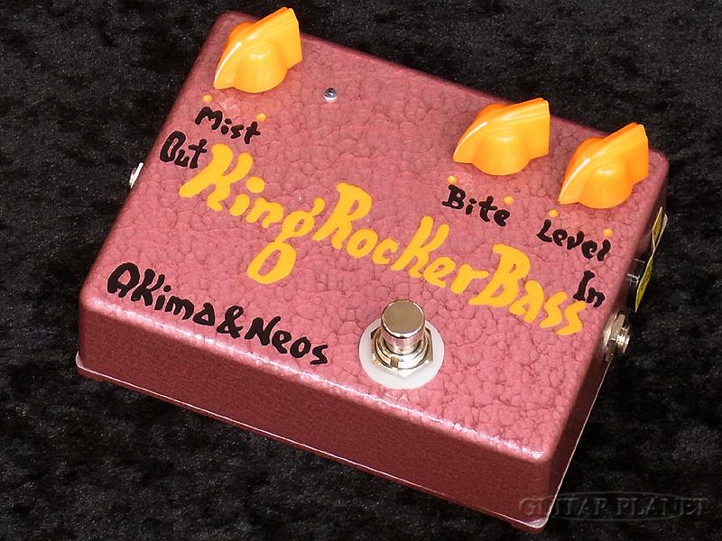 Akima&Neos King Rocker Bass GP Limited -Orange Knob w/Orange Logo-[アキマ,ネオス][オレンジ][Over Drive,オーバードライブ,歪み][Effector,エフェクター]